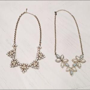 Diamond and Crystal Statement Necklaces